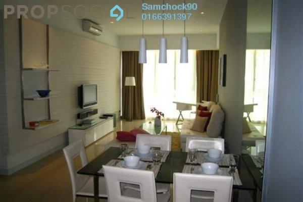 Condominium For Sale in Marc Service Residence, KLCC Freehold Fully Furnished 1R/1B 960k