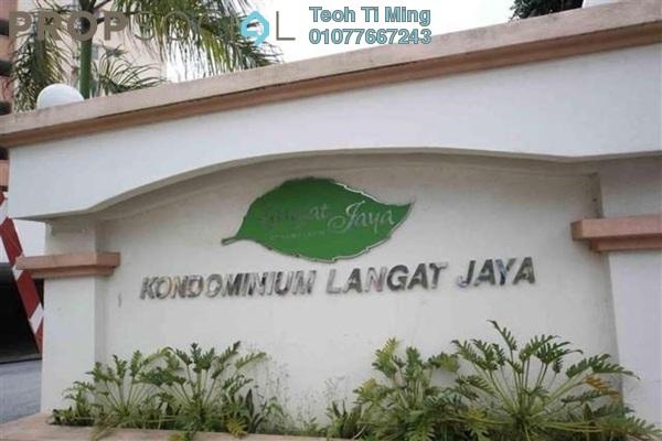 Condominium For Sale in Langat Jaya, Batu 9 Cheras Freehold Semi Furnished 3R/2B 280k
