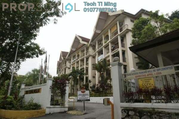Condominium For Sale in Sri Kenangan, Wangsa Maju Leasehold Fully Furnished 4R/2B 375k