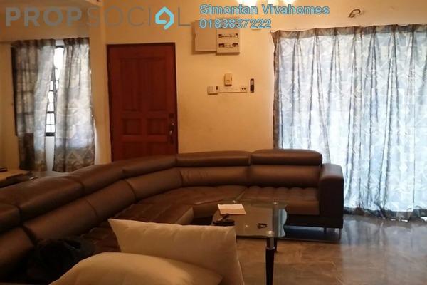Terrace For Rent in Taman Wawasan, Pusat Bandar Puchong Freehold Semi Furnished 5R/3B 1.8k