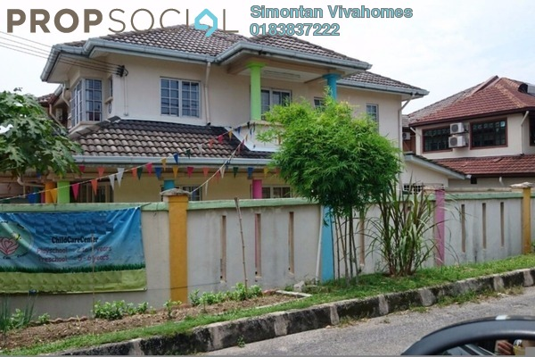 For Sale Terrace at BK5, Bandar Kinrara Freehold Semi Furnished 5R/3B 1.2m