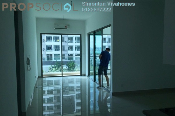 Condominium For Sale in CyberSquare, Cyberjaya Freehold Semi Furnished 2R/2B 470k
