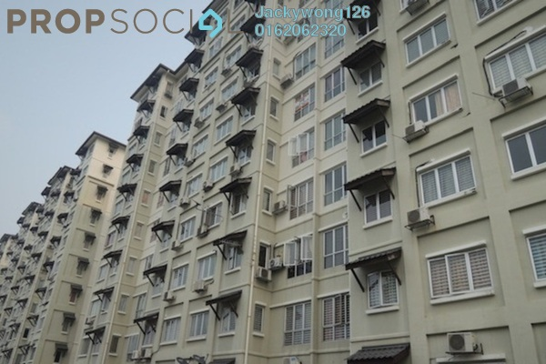 Condominium For Sale in Baiduri Courts, Bandar Bukit Puchong Freehold Unfurnished 3R/2B 270k