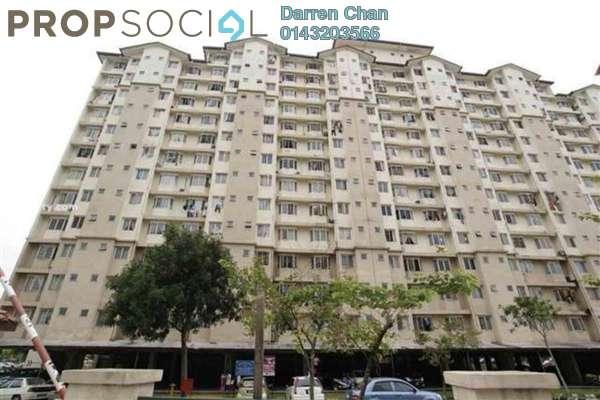 Apartment For Rent in Lestari Apartment, Bandar Sri Permaisuri Leasehold Semi Furnished 3R/2B 1.3k