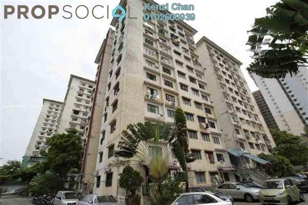 Condominium For Sale in Desa Sri Puteri Apartments, Desa Petaling Freehold Unfurnished 3R/2B 290k