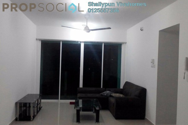 Condominium For Rent in The Zest, Bandar Kinrara Freehold Semi Furnished 3R/2B 1.55k