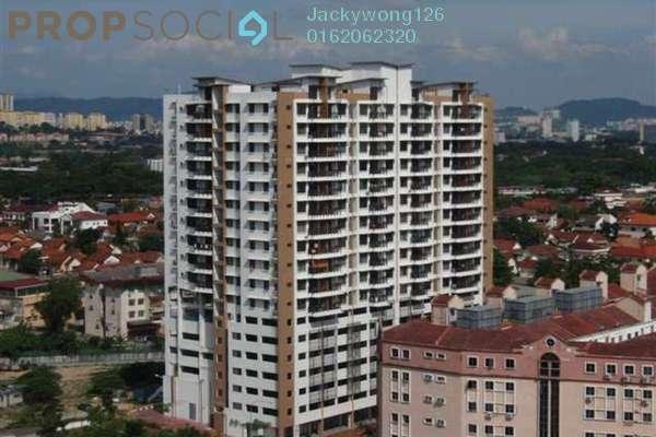 For Sale Condominium at Diamond Residences, Setapak Freehold Semi Furnished 3R/2B 480k