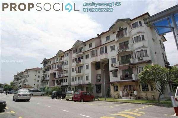 Apartment For Sale in Kenari Court, Pandan Indah Leasehold Unfurnished 3R/2B 345k