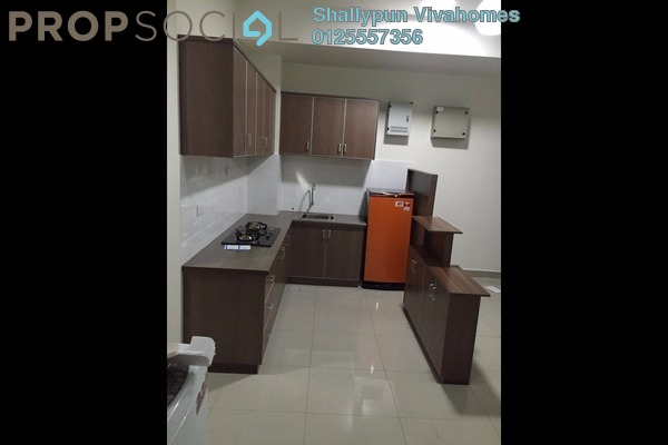 Condominium For Rent in The Wharf, Puchong Leasehold Fully Furnished 2R/2B 1.3k
