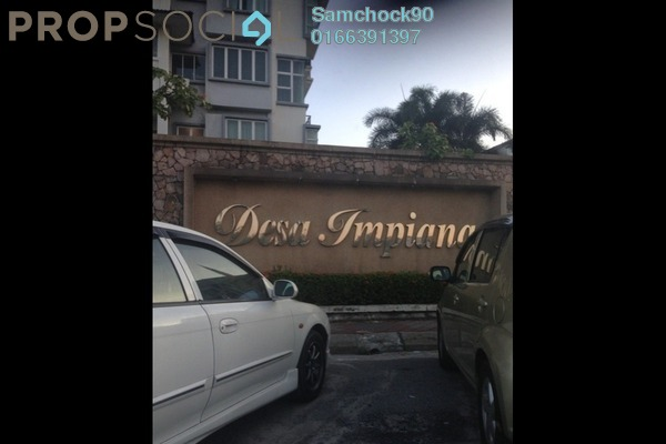 Condominium For Sale in Desa Impiana, Puchong Freehold Fully Furnished 3R/2B 440k