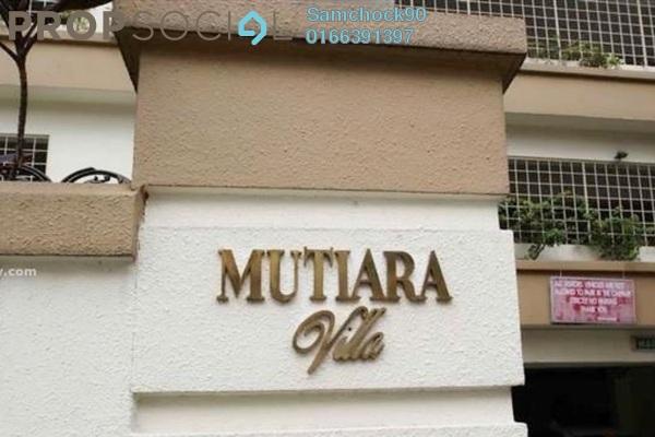 For Rent Condominium at Mutiara Villa, Bukit Ceylon Freehold Fully Furnished 2R/2B 2.5k