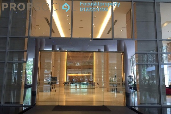 Condominium For Rent in Marc Service Residence, KLCC Freehold Fully Furnished 3R/2B 6k