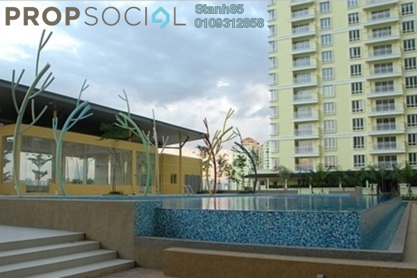 Condominium For Sale in Platinum Lake PV12, Setapak Leasehold Semi Furnished 3R/2B 500k