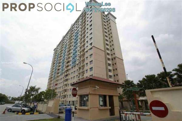 Apartment For Rent in Vista Pinggiran, Bandar Putra Permai Freehold Unfurnished 3R/2B 900translationmissing:en.pricing.unit