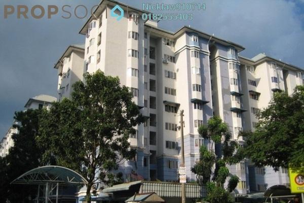 Apartment For Sale in Tasik Heights Apartment, Bandar Tasik Selatan Leasehold Unfurnished 3R/2B 270k
