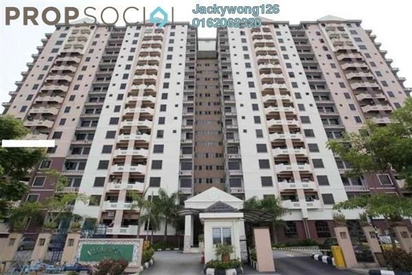 Condominium For Sale in Villamas Apartment, Bandar Puchong Jaya Freehold Unfurnished 3R/2B 380k
