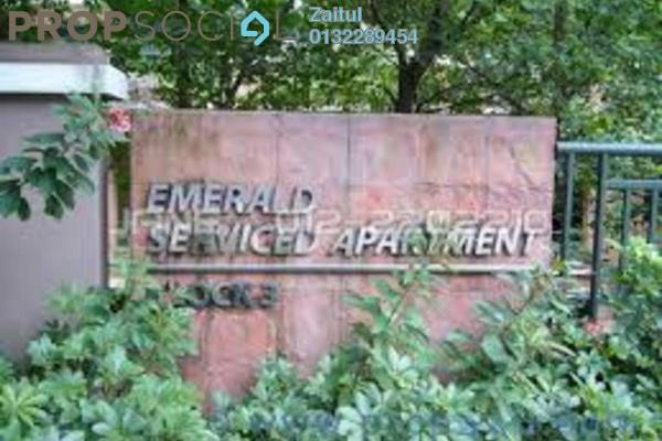 Serviced Residence For Sale in Perdana Emerald, Damansara Perdana Freehold Fully Furnished 3R/2B 550k