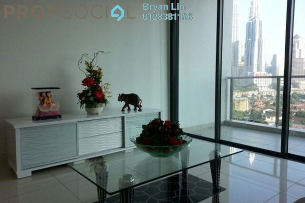 Condominium For Rent in Setia Sky Residences, KLCC Freehold Fully Furnished 1R/2B 3.3k