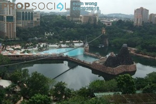 Condominium For Sale in Indah Villa, Bandar Sunway Leasehold Unfurnished 2R/1B 410k