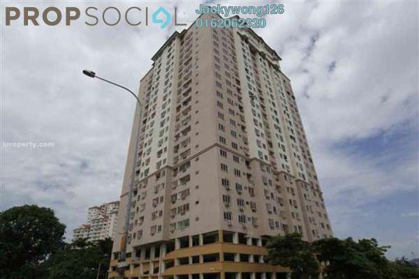 Condominium For Sale in Pelangi Indah, Jalan Ipoh Freehold Semi Furnished 3R/2B 400k