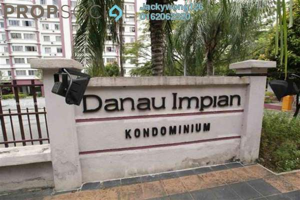 Condominium For Sale in Danau Impian, Taman Desa Leasehold Semi Furnished 3R/2B 430k