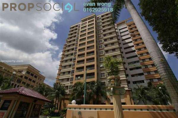 Condominium For Rent in Palmville, Bandar Sunway Leasehold Fully Furnished 3R/2B 3k