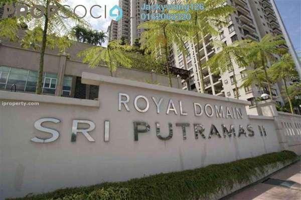 Condominium For Sale in Sri Putramas II, Dutamas Freehold Unfurnished 4R/2B 630k