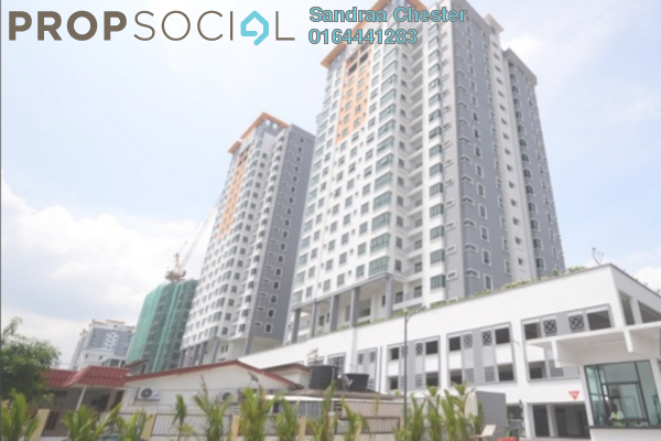 Condominium For Rent in Park 51 Residency, Petaling Jaya Leasehold Semi Furnished 3R/2B 1.45k
