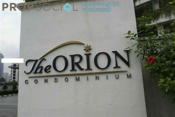 Condominium For Rent in The Orion, KLCC Freehold Fully Furnished 3R/3B 3.2k