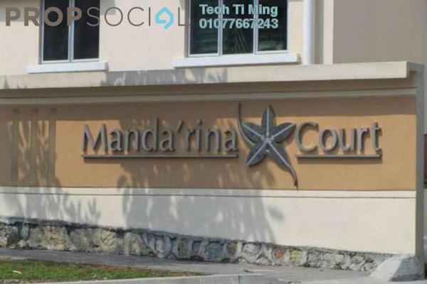 Condominium For Sale in Mandarina Court, Cheras Leasehold Semi Furnished 3R/2B 310k
