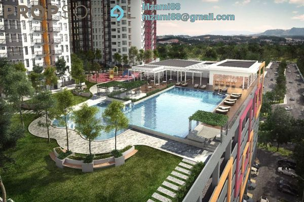 Serviced Residence For Sale in Ascotte Boulevard, Semenyih Freehold Unfurnished 3R/2B 300k