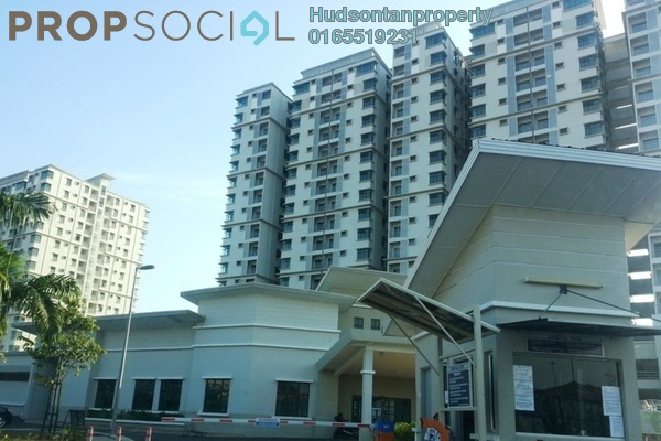Condominium For Rent in Kristal View, Shah Alam Leasehold Semi Furnished 4R/2B 1.55k