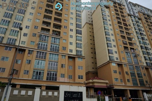 Condominium For Rent in Sri Jati II, Old Klang Road Freehold Fully Furnished 3R/2B 1.45k