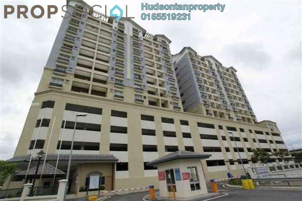 Condominium For Rent in Persanda 3 Apartment, Shah Alam Leasehold Semi Furnished 3R/2B 1.35k