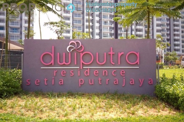 Condominium For Rent in Dwiputra Residences, Putrajaya Freehold Fully Furnished 3R/2B 1.65k