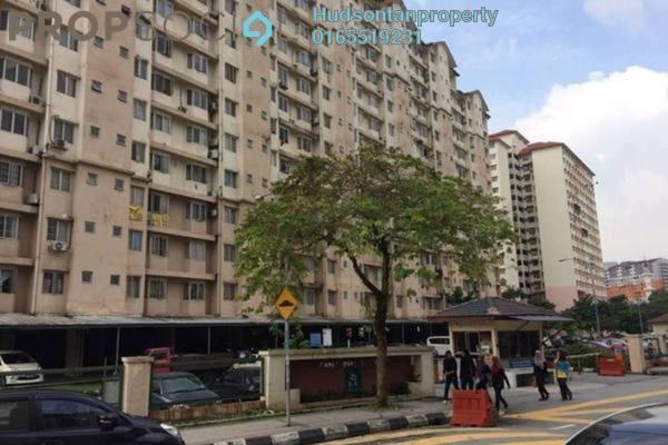 Apartment For Rent in Lestari Apartment, Bandar Sri Permaisuri Leasehold Semi Furnished 3R/2B 1.15k