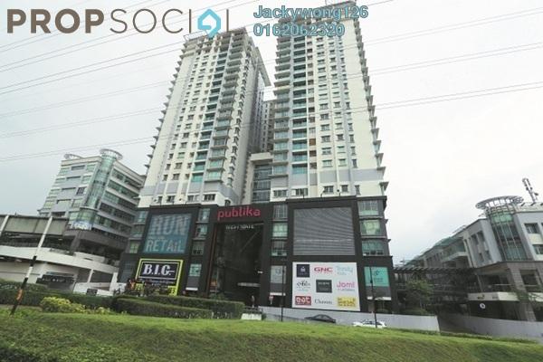 Condominium For Rent in Solaris Dutamas, Dutamas Freehold Fully Furnished 3R/2B 3k