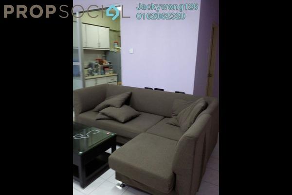 Apartment For Rent in Pelangi Damansara, Bandar Utama Leasehold Fully Furnished 3R/2B 1.6k