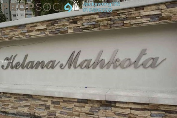 Condominium For Rent in Kelana Mahkota, Kelana Jaya Leasehold Fully Furnished 3R/2B 2.1k