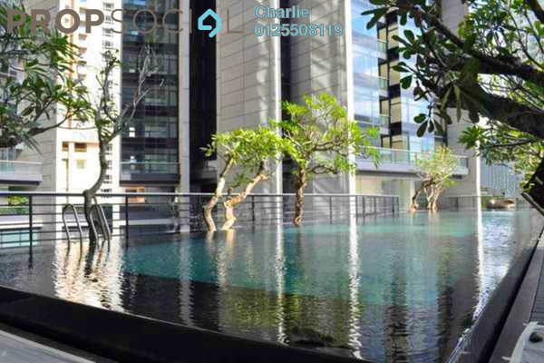 Condominium For Rent in The Troika, KLCC Freehold Fully Furnished 2R/2B 8k