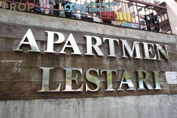 Condominium For Rent in Lestari Apartment, Bandar Sri Permaisuri Freehold Semi Furnished 3R/2B 1.3k