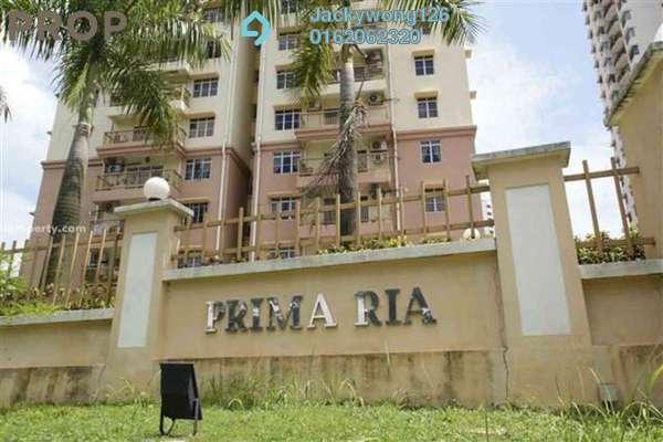 For Rent Condominium at Prima Ria, Dutamas Freehold Semi Furnished 3R/2B 1.6k