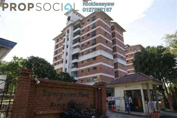 Condominium For Sale in Evergreen Park, Bandar Sungai Long Freehold Unfurnished 3R/2B 400k