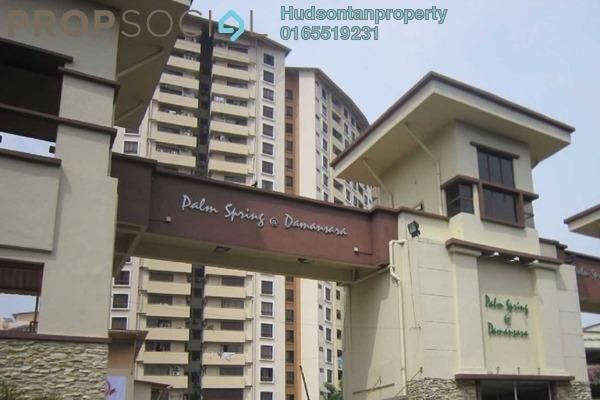 Condominium For Rent in Palm Spring, Kota Damansara Leasehold Fully Furnished 3R/2B 1.6k