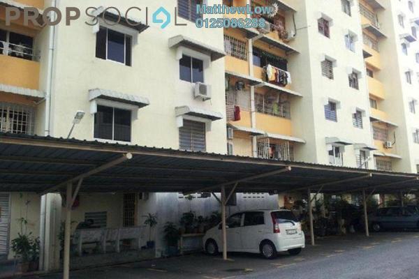 Apartment For Sale in Desa Bayan, Sungai Ara Freehold Semi Furnished 3R/2B 270k