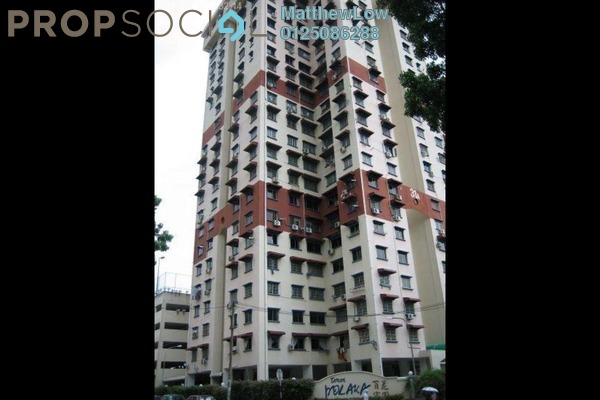 For Sale Apartment at Taman Pekaka, Sungai Dua Freehold Semi Furnished 3R/2B 435k