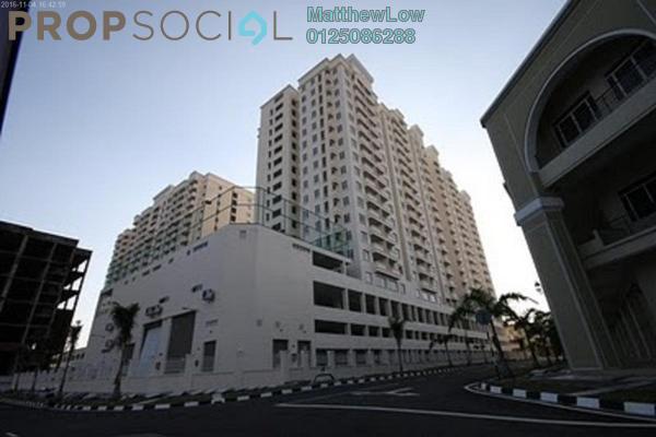 Condominium For Rent in D'Piazza Condominium, Bayan Baru Freehold Fully Furnished 3R/2B 1.8k