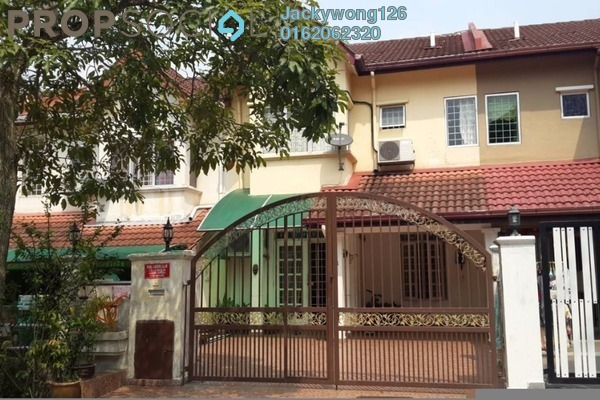 Terrace For Sale in BK5, Bandar Kinrara Freehold Semi Furnished 4R/3B 750k