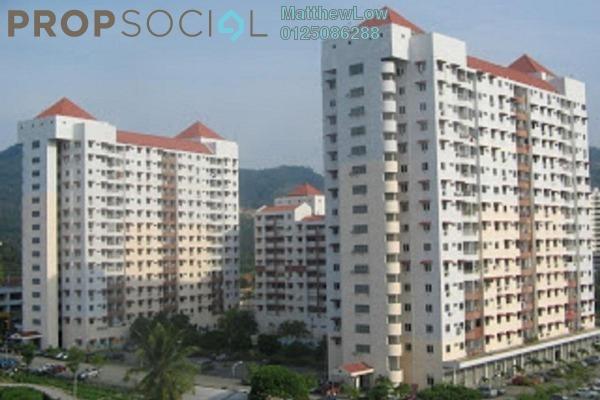 Condominium For Rent in Taman Seri Sari, Relau Freehold Semi Furnished 3R/2B 750translationmissing:en.pricing.unit