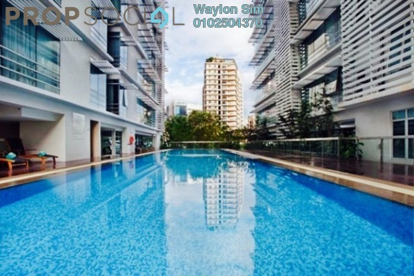 Condominium For Sale in One Residency, Bukit Ceylon Freehold Fully Furnished 1R/1B 830k